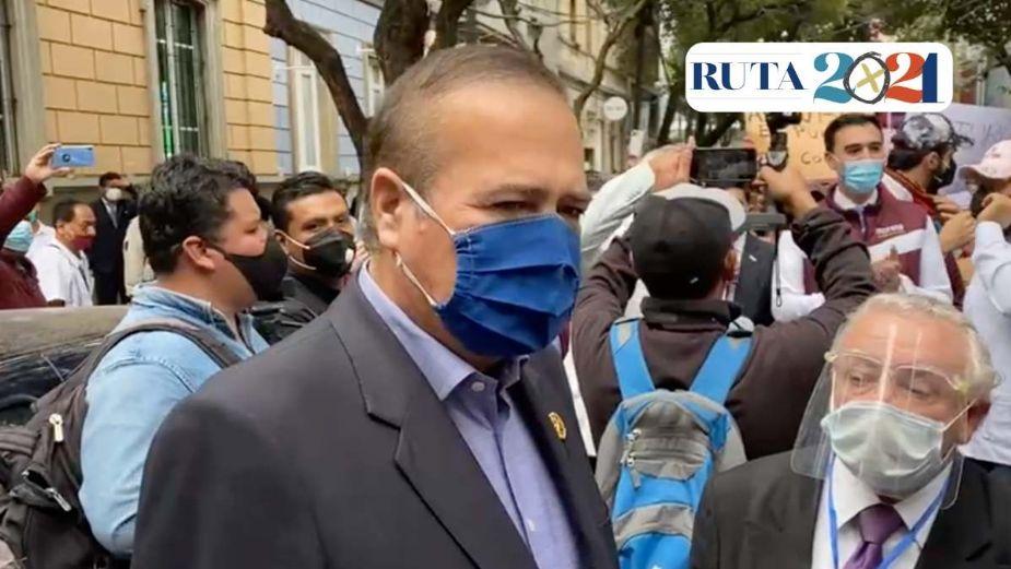 ALCALDE DE LA CIUDAD SE REGISTRA EN MORENA PARA PRECANDIDATO A GOBERNADOR DE BAJA CALIFORNIA