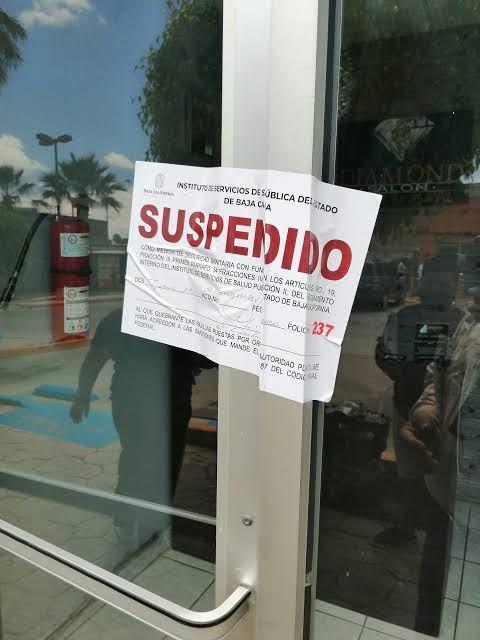 """CLAUSURA COEPRIS EN MEXICALI BARES """"DISFRAZADOS"""" DE RESTAURANTES"""