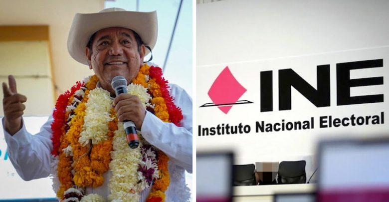 """""""INE TUMBA"""" CANDIDATURA A GOBERNADOR DE GUERRERO DE FELIX SALGADO MACEDONIO"""