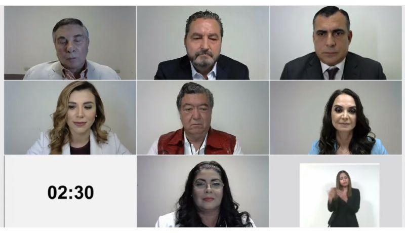 """DOS HORAS DE """"""""DEBATE"""" PARA CANDIDATOS A GOBERNAR BAJA CALIFORNIA.Video"""