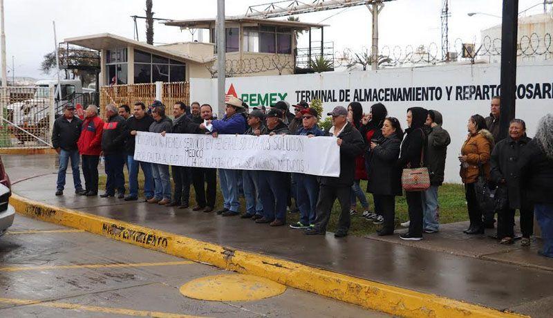 TRABAJADORES DE PEMEX _PLAYAS DE ROSARITO,  SIGUEN SIN SERVICIOS MÉDICOS