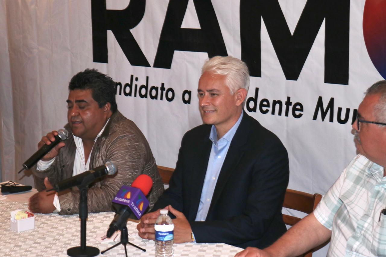 PROPONE JORGE RAMOS PLANIFICAR Y EJECUTAR OBRAS DE MANERA ORDENADA