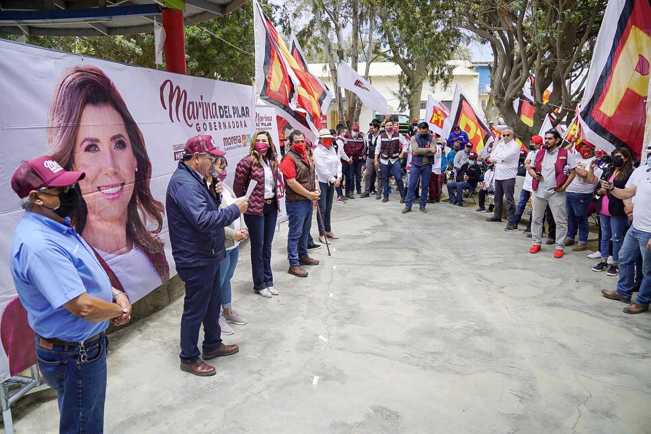 Presenta Marina de Pilar su Plan de Desarrollo para el Bienestar en San Quintín
