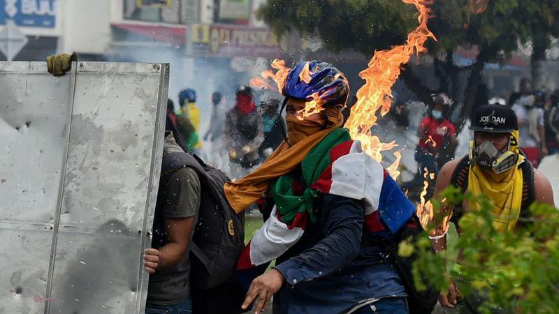 CINCO DÍAS DE VIOLENCIA EN COLOMBIA. ¿PORQUÉ?