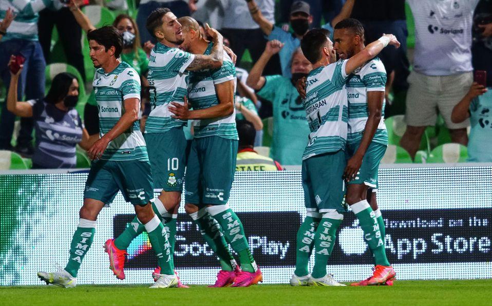 SANTOS VENCE A MONTERREY 2-1,EN CUARTOS DE FINAL