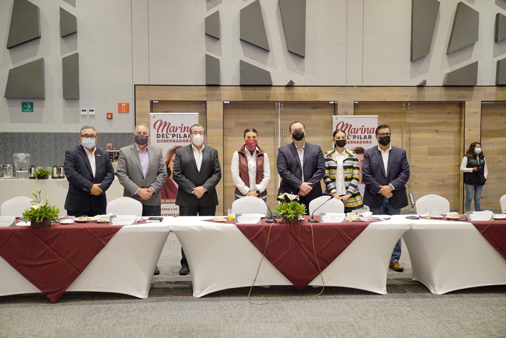 MARINA DEL PILAR: PRIORIDAD DETONAR PUERTO DE ENSENADA Y EXPORTACIÓN EN TIJUANA