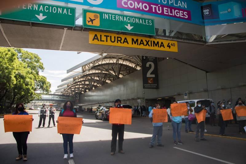 PROTESTAN  EN VARIAS CIUDADES DEL PAÍS POR LA FALTA DE MEDICINAS PARA NIÑOS CON CÁNCER