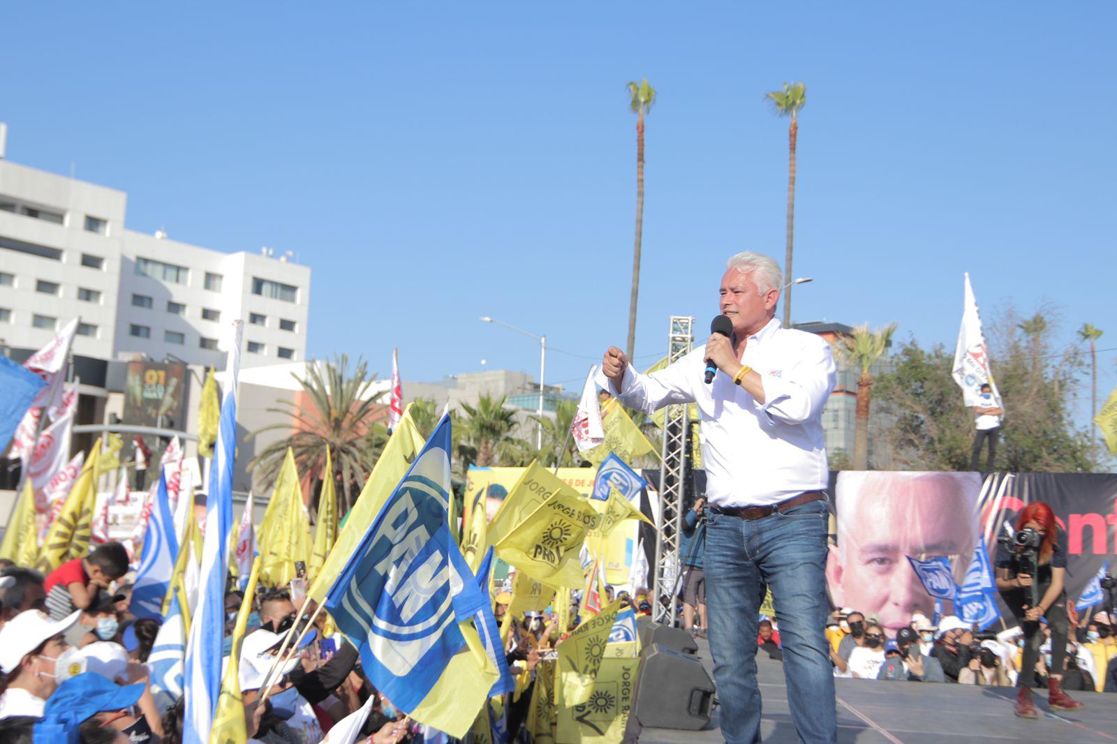 JORGE RAMOS INVITA A LA POBLACIÓN AL VOTO ÚTIL PARA RECUPERAR TRANQUILIDAD DE TIJUANA