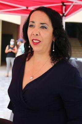 PROTESTA ALCALDESA DE ROSARITO CONTRA REENCUENTRO EN DISTRITO 15