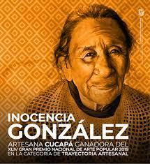 Falleció Inocencia González, líder y artesana cucapah; Premio Nacional de Arte Popular 2019