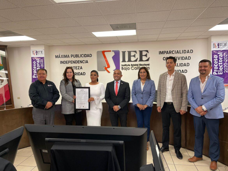 MONSERRAT CABALLERO, YA ES ALCALDESA ELECTA DE TIJUANA.NORMA BUSTAMANTE EN MEXICALI