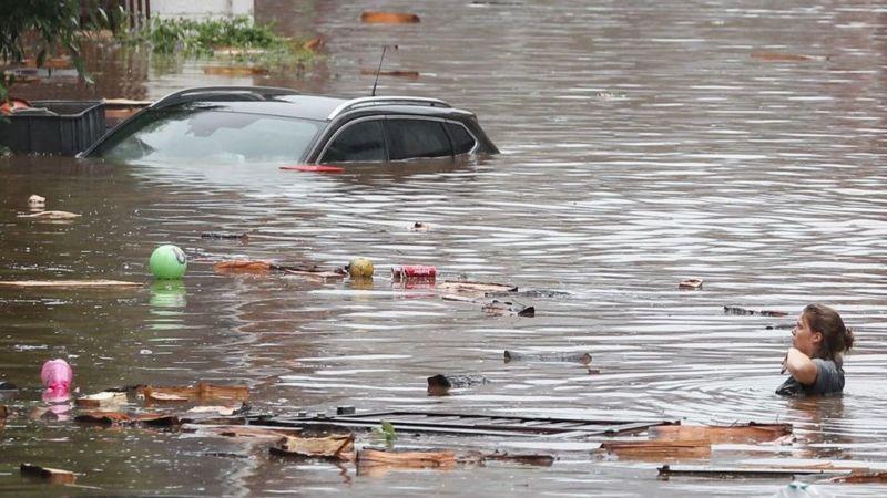 118 MUERTOS Y MIL DESAPARECIDOS POR  INUNDACIONES DE AGUA EN ALEMANIA