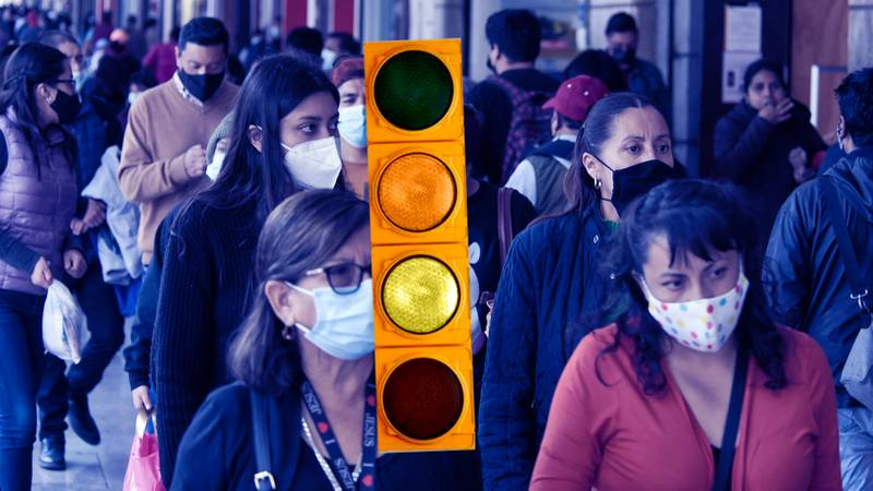 COVID 19: Han muerto 238 mil 424 mexicanos hasta el domingo.En Baja California, seguimos en  semáforo verde