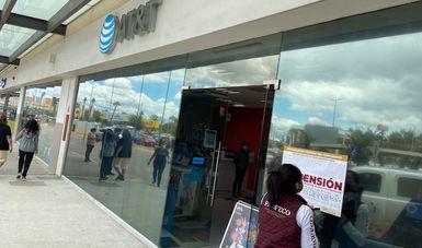 SUSPENDE PROFECO SERVICIOS DE  TELEFÓNICA AT&T EN TIJUANA