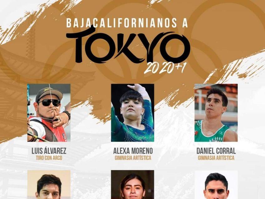 BAJACALIFORNIANOS QUE VAN A JUEGOS OLIMPICOS DE TOKYO 2020/21
