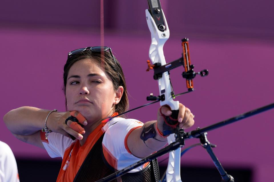 TIJUANENSE, GABRIELA BAYARDO, GANA MEDALLA DE PLATA,PERO PARA HOLANDA.Juegos Olimpico Tokyo 2020