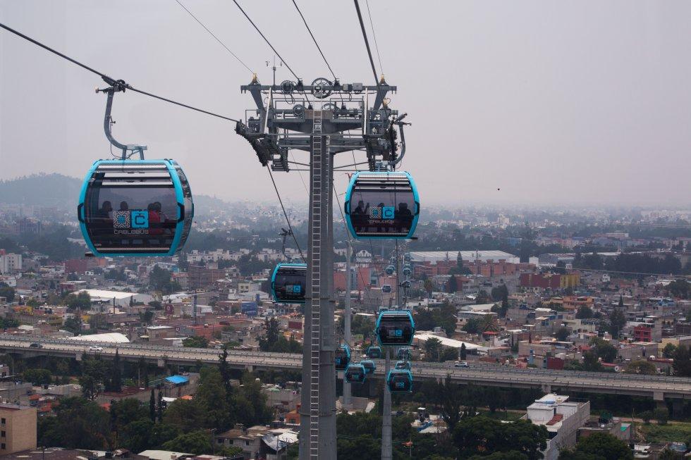 LLEGA EL CABLEBUS A LA CIUDAD DE MÉXICO. Transporte Tipo teleférico