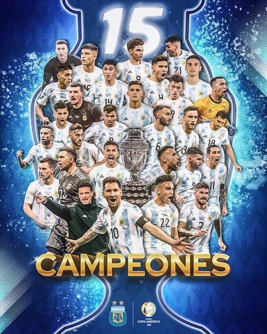 CAMPEONES. Argentina  gana la Copa Sudamericana.Vence a Brasil 1-0
