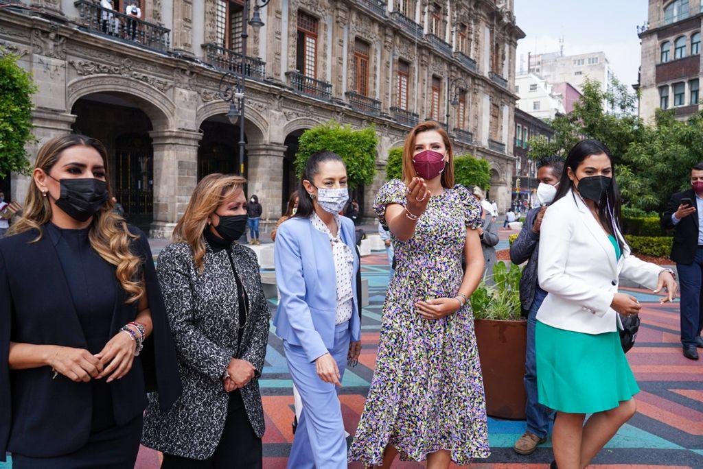 Refrendan mandatarias de MORENA compromiso con la 4T: Marina del Pilar