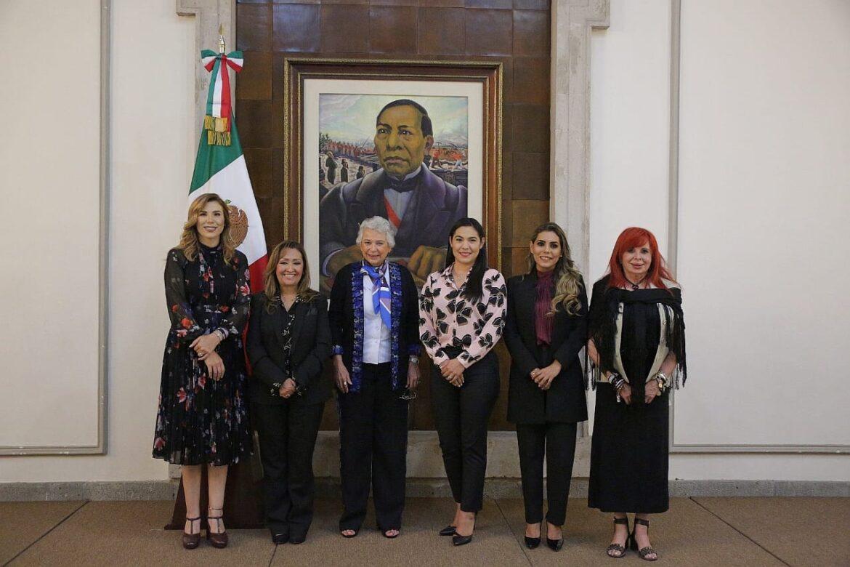 MARINA DEL PILAR CON LA SECRETARIA DE GOBERNACIÓN