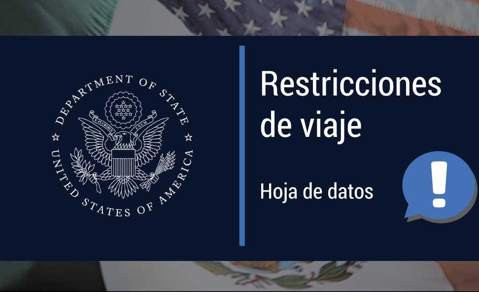SEGUIMOS SIN PODER PASAR A EE.UU. HASTA EL 20 DE AGOSTO 2021
