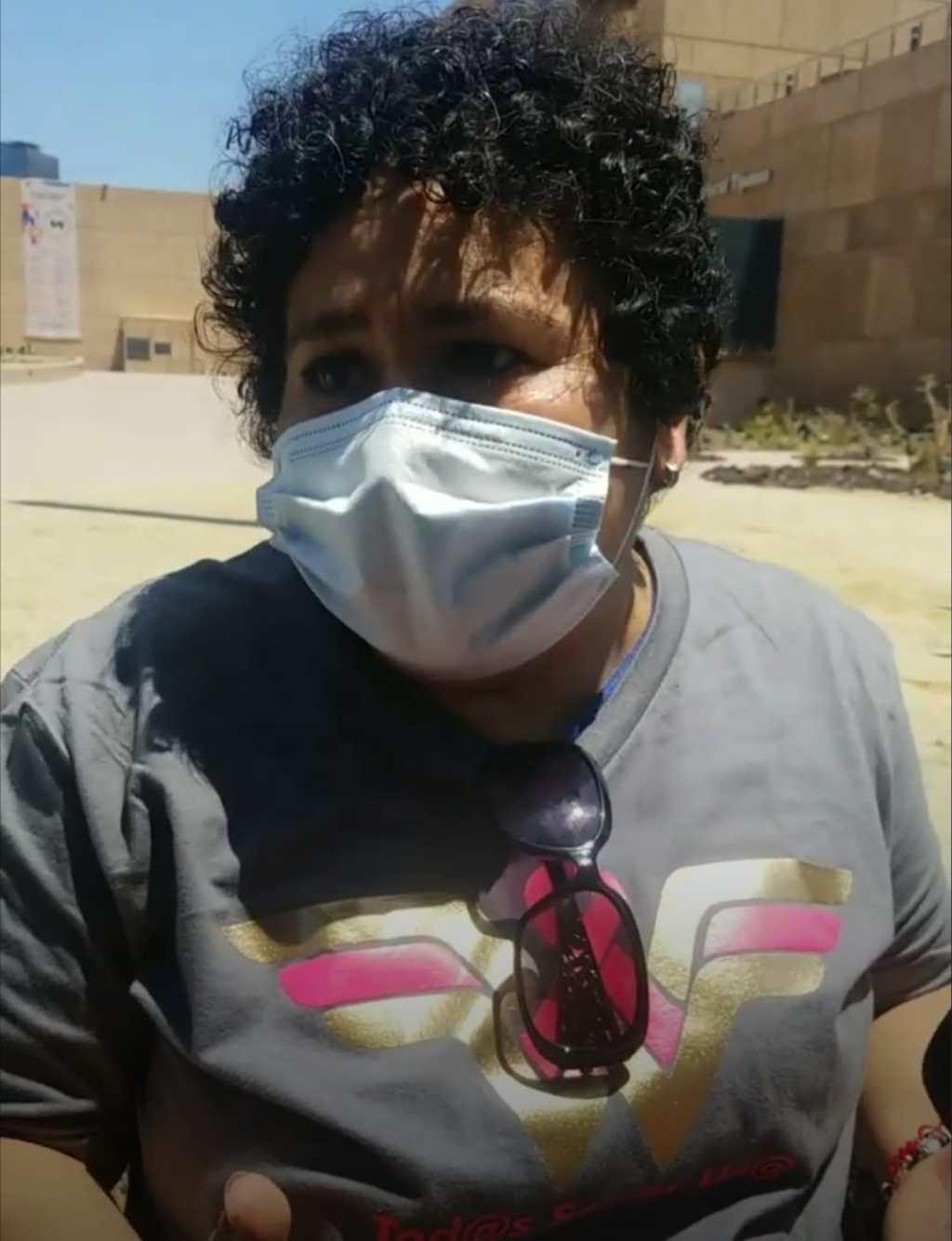 Protestan mujeres con cáncer por ausencia de tratamientos en hospitales de Baja California