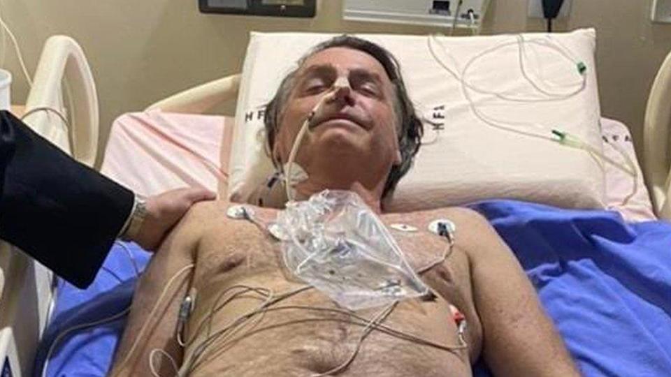 HOSPITALIZAN AL PRESIDENTE DE BRASIL: Jair Bolsonaro