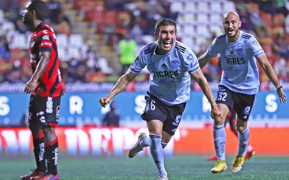 Tigres vence 2-1 a Xolos en estadio Caliente.LIGA MX Futbol
